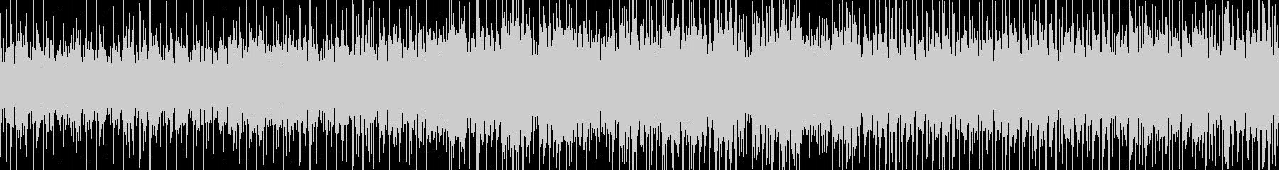 ゲーム等に使えるエレクトリックなループ曲の未再生の波形
