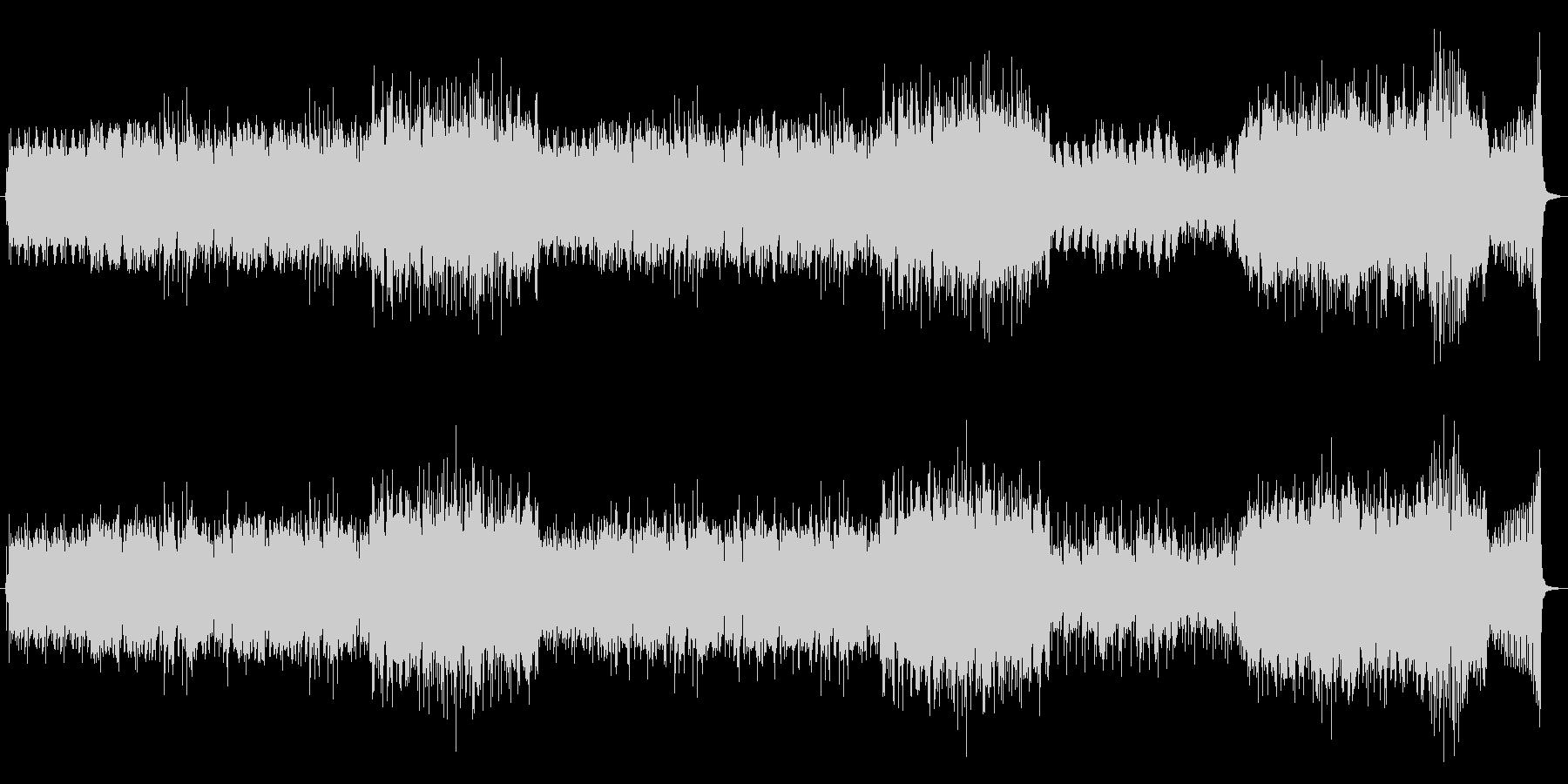 チェロテーマの疾走する3拍子インスト曲の未再生の波形