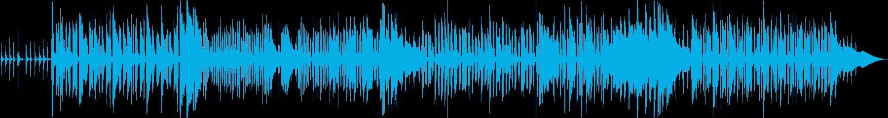 インストゥルメンタル、ベース、ピア...の再生済みの波形