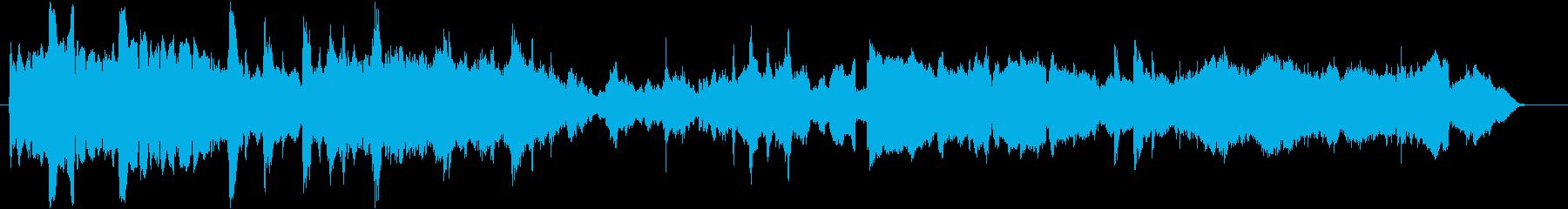 ラヴェル 「マ・メール・ロワ」パヴァーヌの再生済みの波形