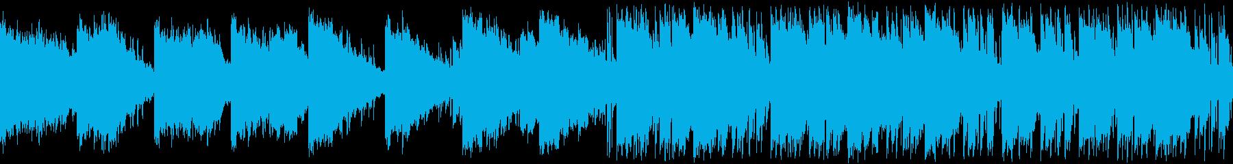 神秘的静かなエレピ・ナレ好相性・ループの再生済みの波形