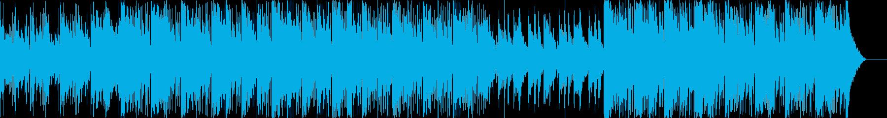 ワイルドで渋い和風エピックBGM の再生済みの波形