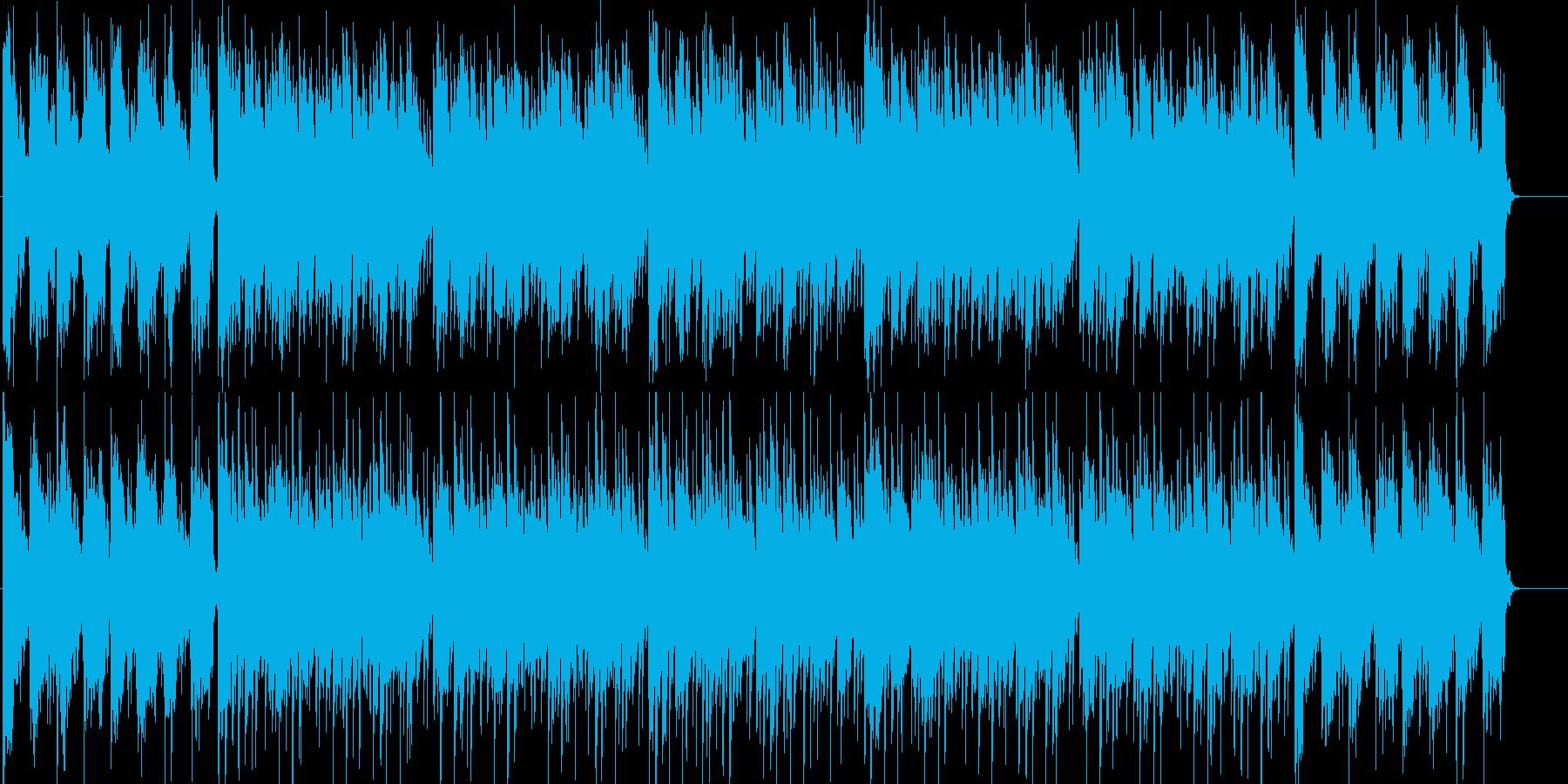 さわやか、充実、スピード、わくわくの再生済みの波形