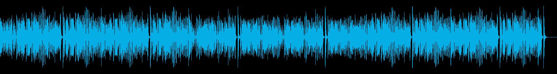 レトロでお洒落なオールドジャズピアノ名曲の再生済みの波形
