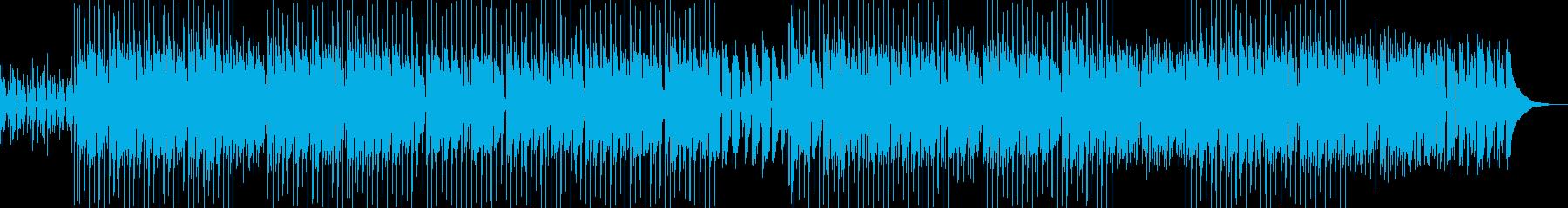 陽気、可愛らしいウクレレポップスの再生済みの波形