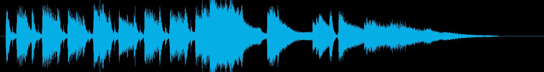 Jazz クール 明るい オープニングの再生済みの波形