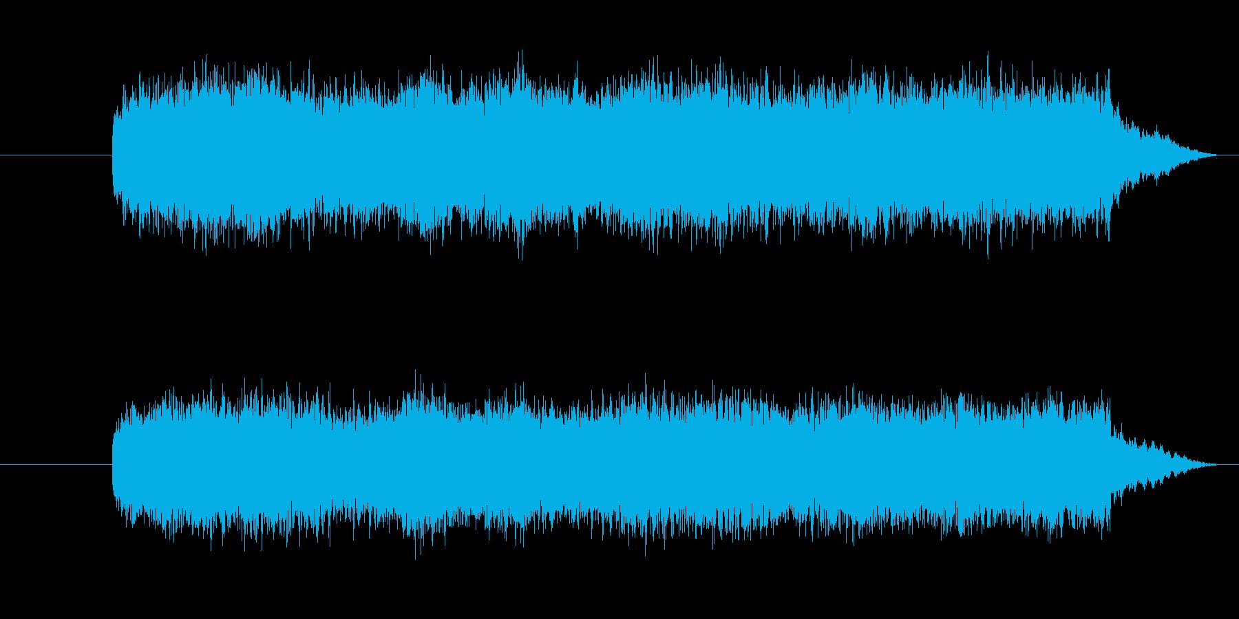 オルガンを使ったホラー系です。の再生済みの波形