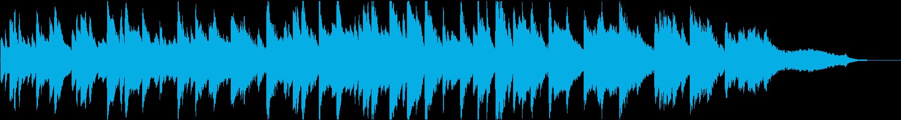 企業VP49 広告・動画・感動・ピアノの再生済みの波形