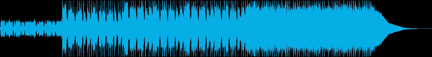 オープニング・CM・ロックの再生済みの波形