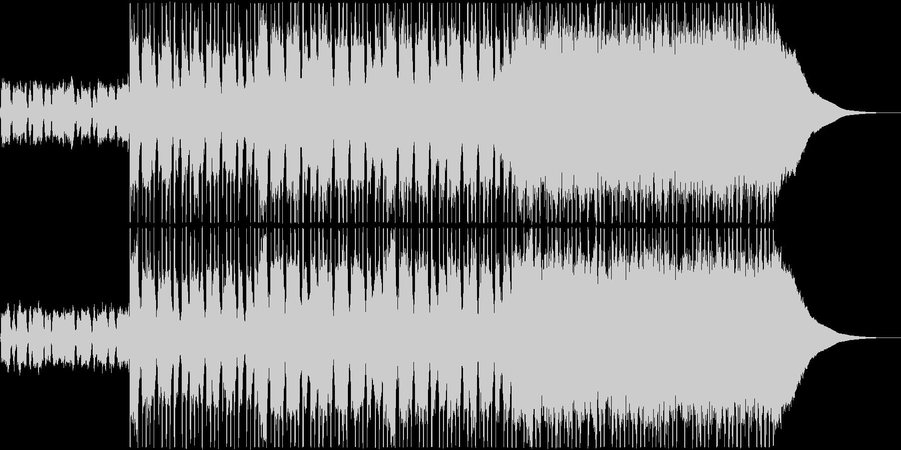 オープニング・CM・ロックの未再生の波形
