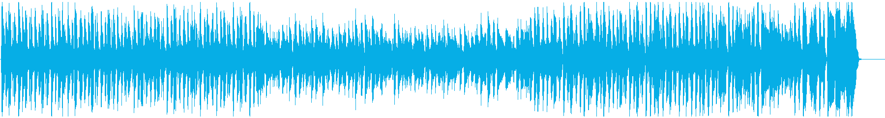 ほのぼのでウキウキでポップな曲の再生済みの波形