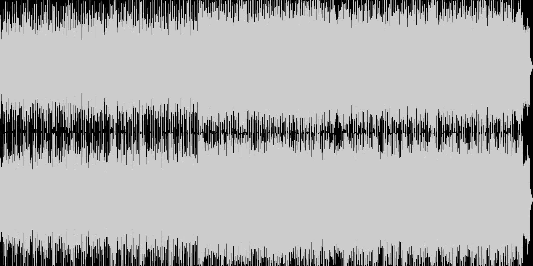 亡き王女のためのパヴァーヌ/テクノの未再生の波形