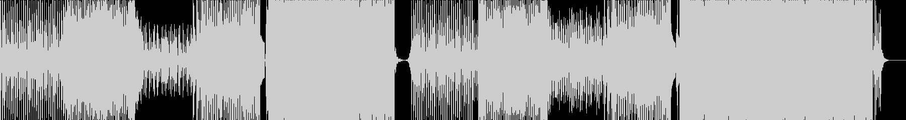 疾走感のあるトロピカルハウスの未再生の波形