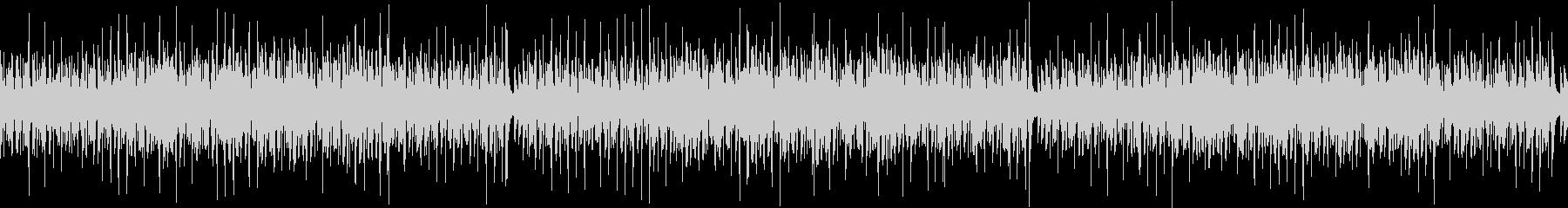 ウクレレと鉄琴のコミカルな BGMの未再生の波形