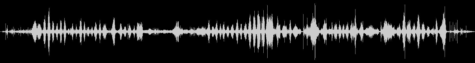 コンスタントランダウンヒル、ロング...の未再生の波形