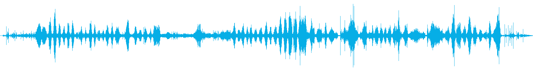コンスタントランダウンヒル、ロング...の再生済みの波形
