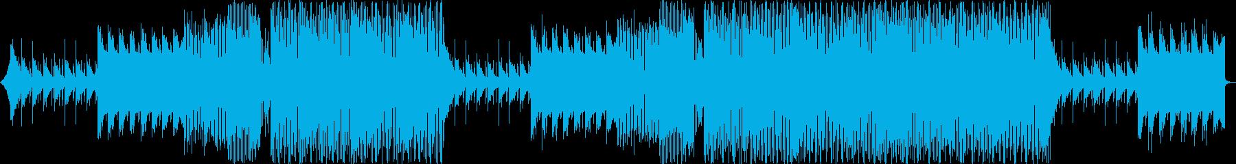 ドロップの可愛いパーカッション抜きの再生済みの波形