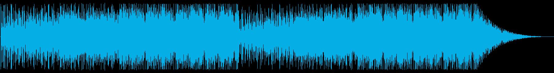 開放的/宇宙/エレクトロ_No602_1の再生済みの波形
