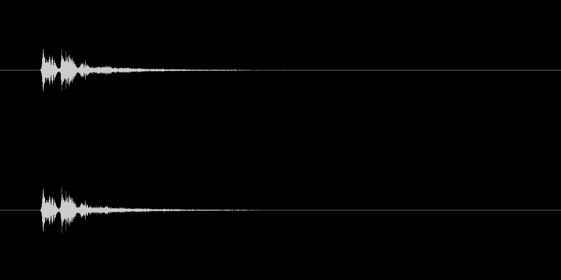 【サイバー18-4】の未再生の波形