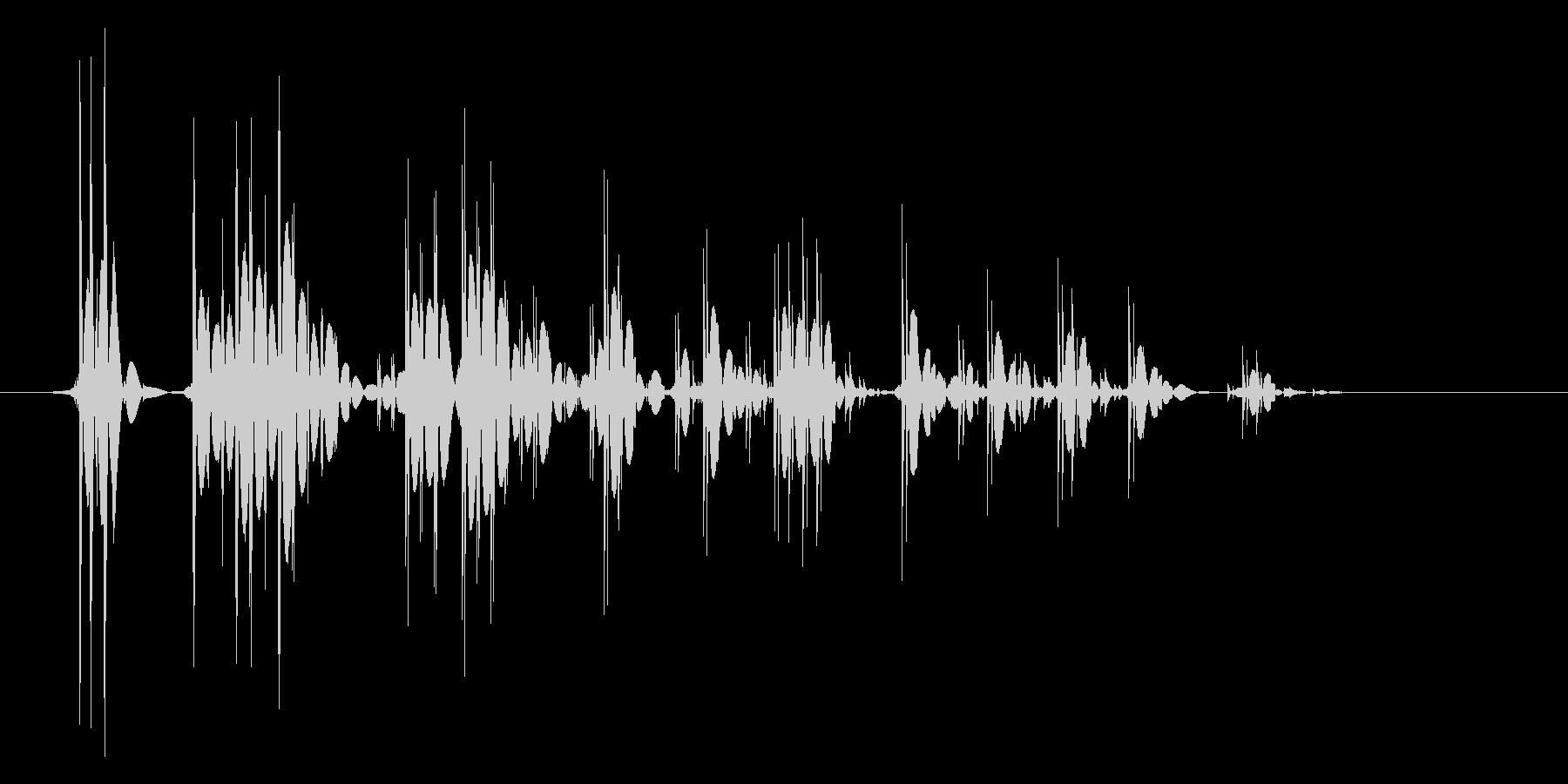 ゲーム(ファミコン風)爆発音_018の未再生の波形