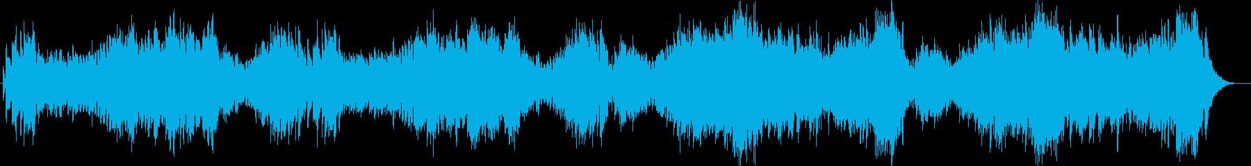 超高速。緊張感のあるピアノ曲の再生済みの波形