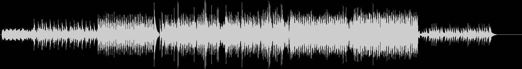 ピアノ系EDM、相当上がる曲の未再生の波形