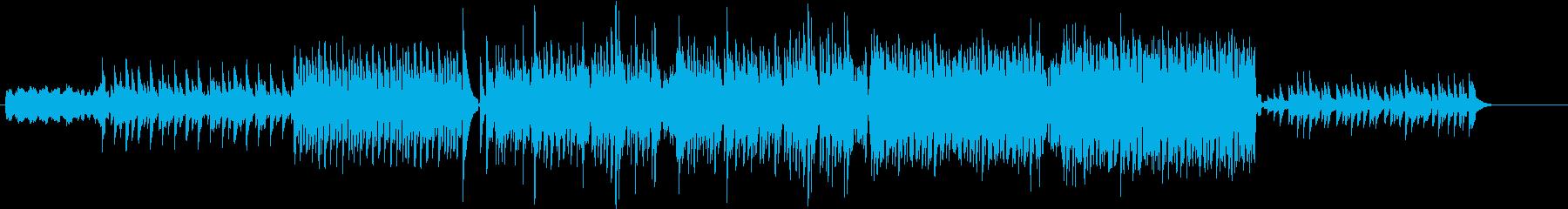 ピアノ系EDM、相当上がる曲の再生済みの波形