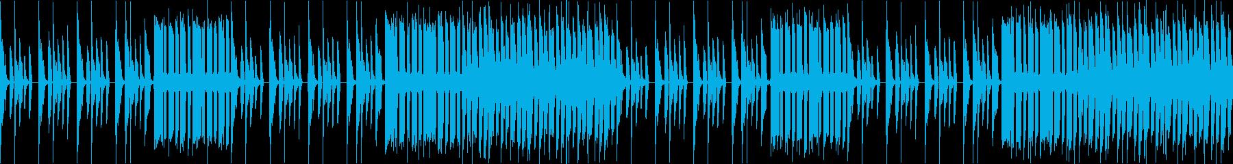 YouTubeコメディー、ライザップ風の再生済みの波形