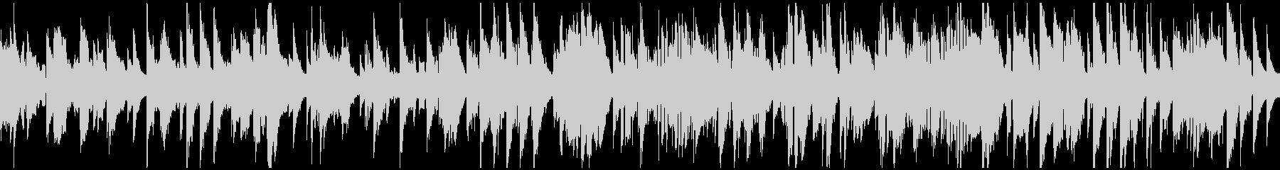 渋いサックスのジャズ・バラード※ループ版の未再生の波形