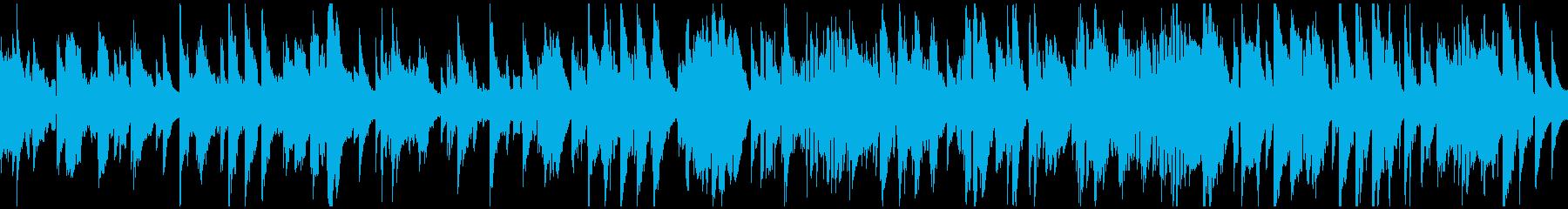 渋いサックスのジャズ・バラード※ループ版の再生済みの波形