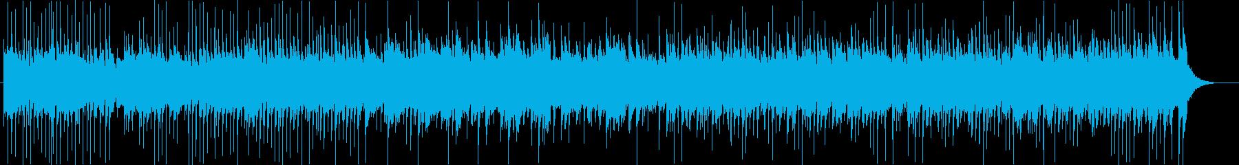 三味線を軸としたロックの再生済みの波形