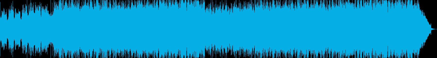 フラメンコギターのアンサンブルオリジナルの再生済みの波形