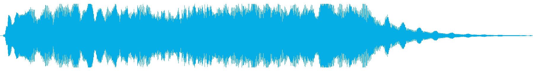素材 大気フィードバック歪みハード02の再生済みの波形