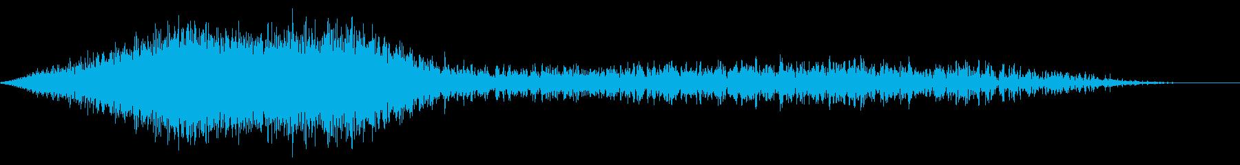 シューッという音EC07_91_4の再生済みの波形
