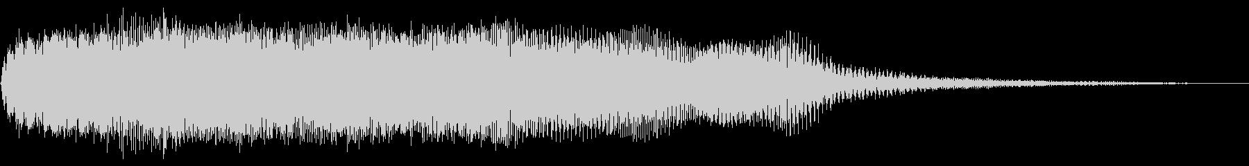 レトロ起動ジャーン/分厚い和音ME9の未再生の波形