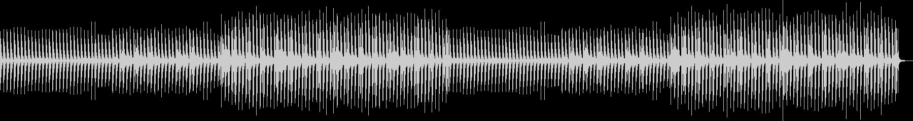 Background Piano Popの未再生の波形
