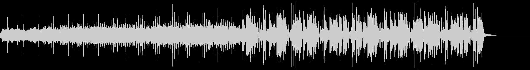 変化球な感じの変則ビートの未再生の波形