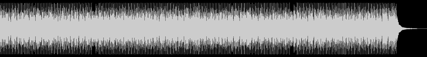 ベース無し 青空 ポジティブ ピアノの未再生の波形