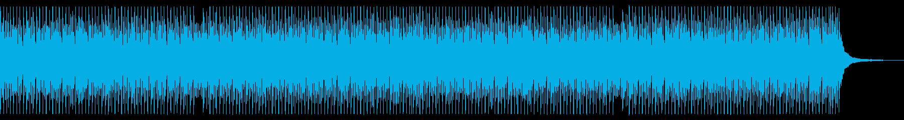 ベース無し 青空 ポジティブ ピアノの再生済みの波形