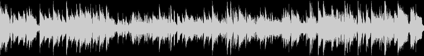 現代的なクール系しっとりジャズ※ループ版の未再生の波形