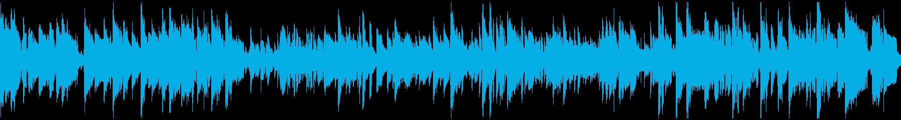 現代的なクール系しっとりジャズ※ループ版の再生済みの波形