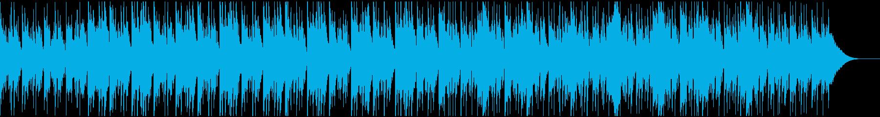 アルペジオギターと鉄琴のかわいいポップスの再生済みの波形