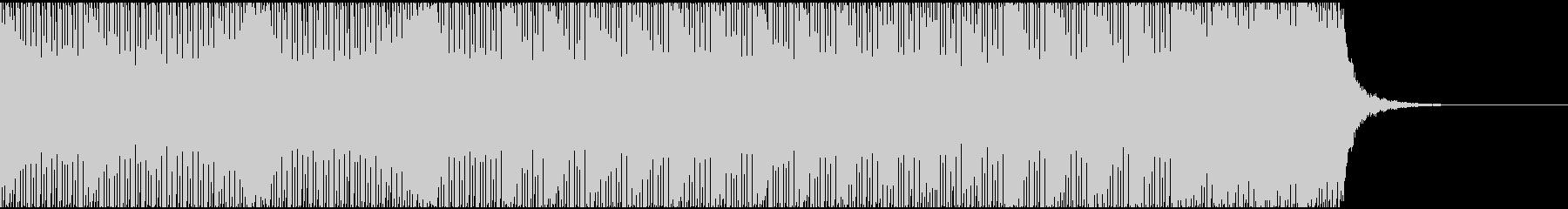 【EDM】クラブダンスミュージックの未再生の波形
