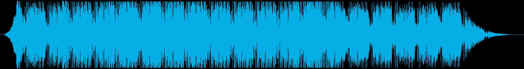 シタールの入った怪しいファンクビートの再生済みの波形