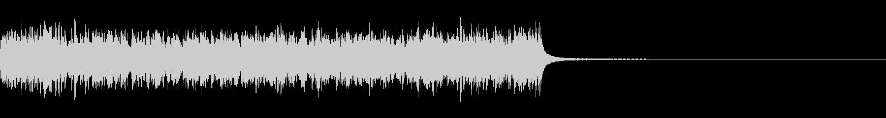 アラームベルリンギングアラーム;ベルの未再生の波形