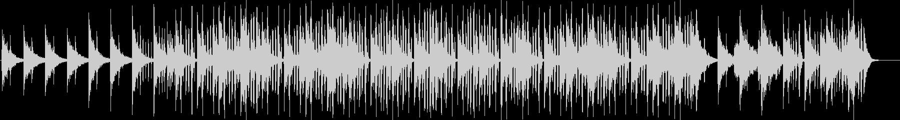 ノリタルジーなメロディーのR&Bの未再生の波形