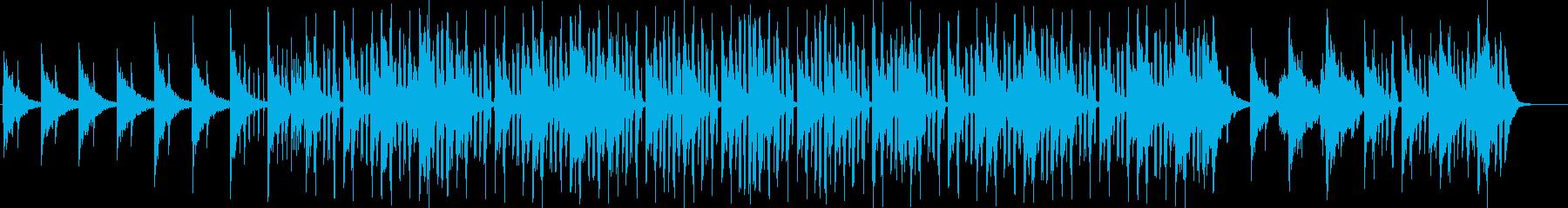 ノリタルジーなメロディーのR&Bの再生済みの波形