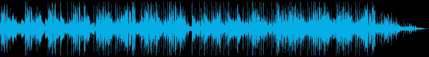 サックスとエレピのおしゃれなチルホップの再生済みの波形