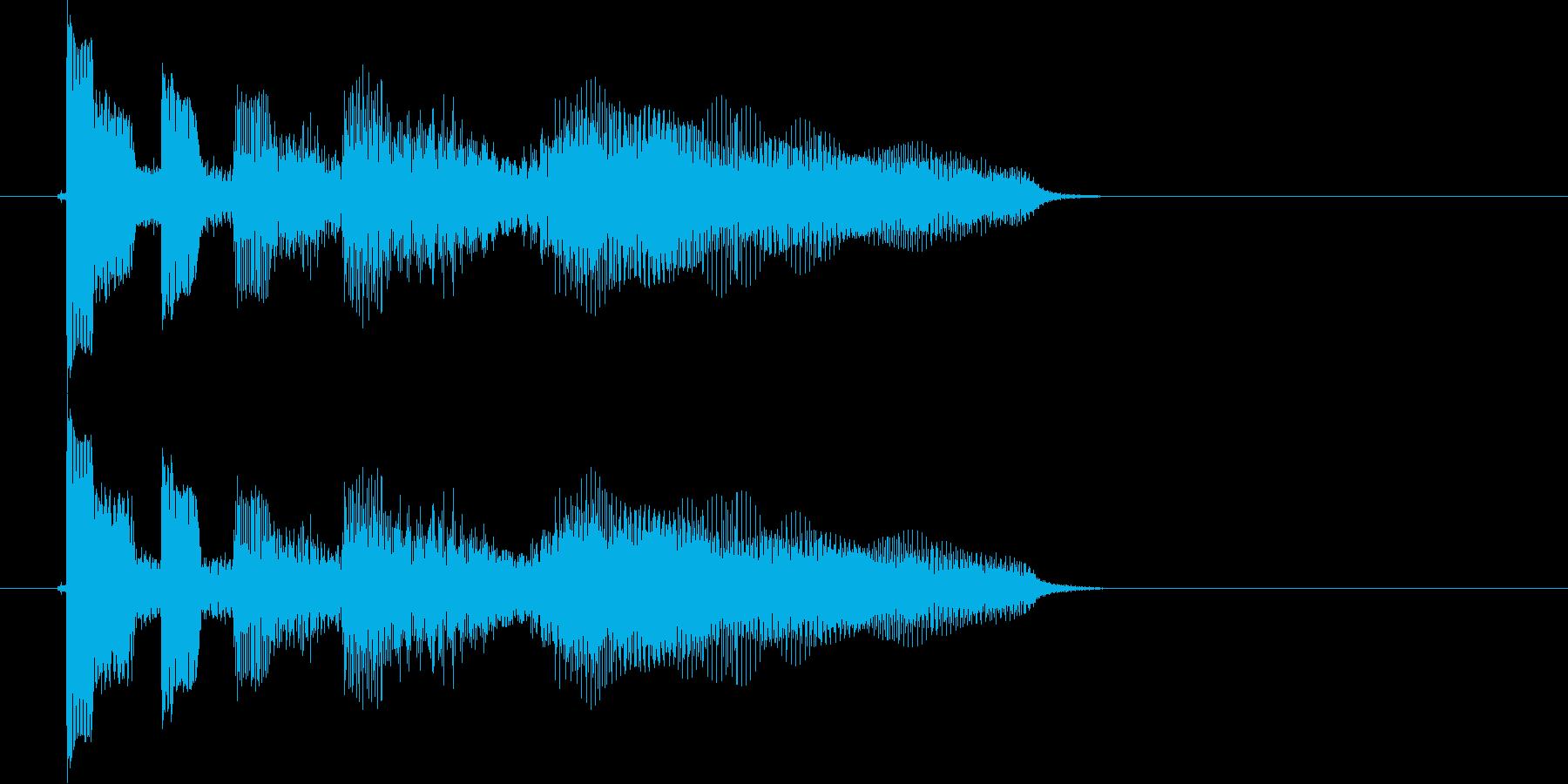 エレキ カントリー切り替え2 UPの再生済みの波形