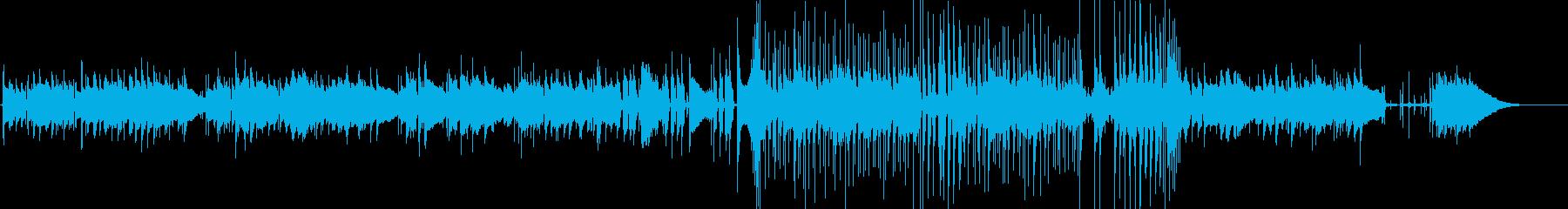 フォーク/アメリカーナ楽器。のんび...の再生済みの波形